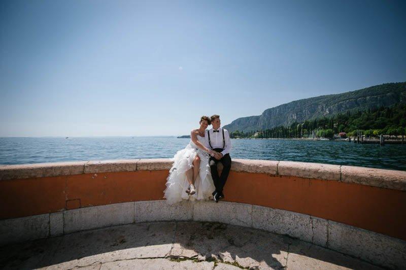 Matrimonio Castello di Malcesine Lago di Garda-089